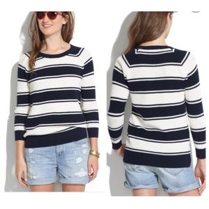 Madewell Bridgeview Pullover in Stripe